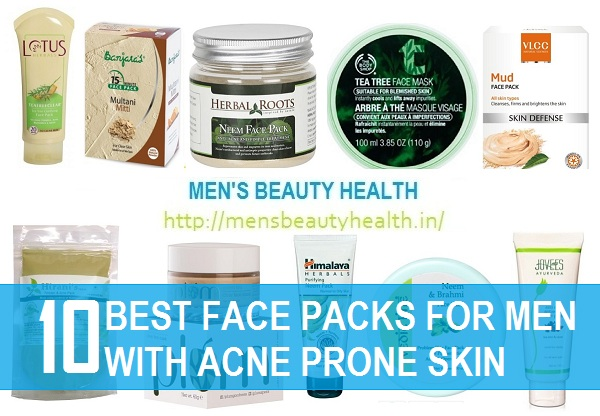 10 best face packs for pimples and acne prone skin in india