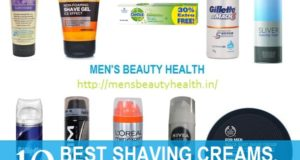 Shaving Creams for Men in India