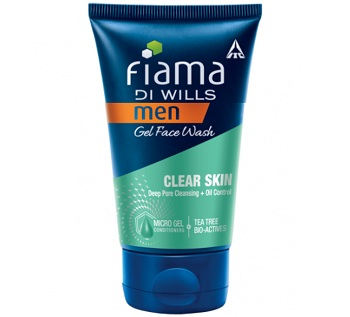 Oil control face wash for men with oily skin in india fiama