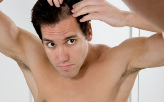 natural treatments for men's damaged hair