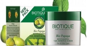 biotique 8 Top Best Anti Tan Facial Scrub for Men in India