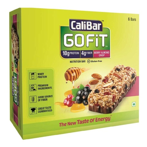 caliber 6 Top Best Protein Bars for Muscle Gain in India for Men