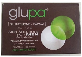 glupa Best Men's Skin Whitening Soap For Men in India with Price