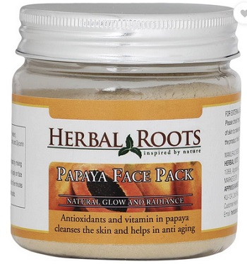 herbal roots best men's fairness face packs in India