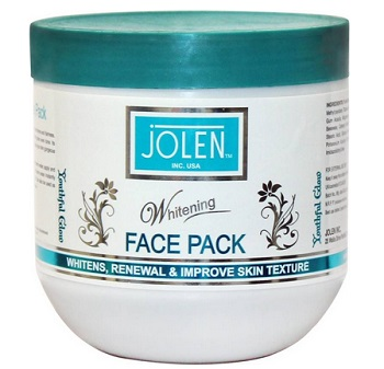 jolen  men's fairness face packs in India
