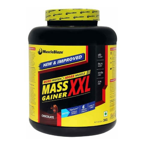 muscleblaze 8 Best Weight/ Mass Gainer Supplements in India