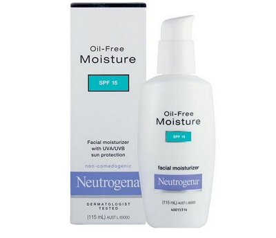 neutrogena 8 Best Oily skin Creams & Moisturiser for Men in India