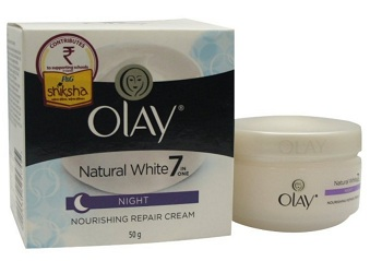 olay Best Whitening Night Creams for Men in India