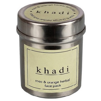khadi 7 Top Best Men's Glowing Skin Face Packs in India with Price