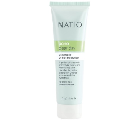 natio oil free moisturiser