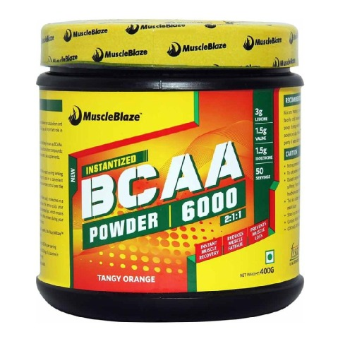 muscle BCAA supplement