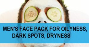 mens face pack for dark spots