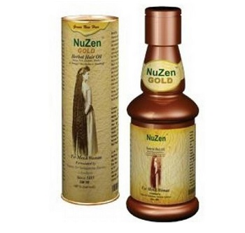 nuzen Ayurvedic hair oil for men in India