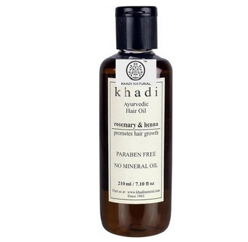 khadi 8 Best Ayurvedic hair oil for men in India with Price