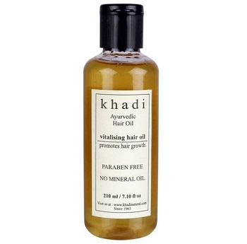 khadi Ayurvedic hair oil for men in India