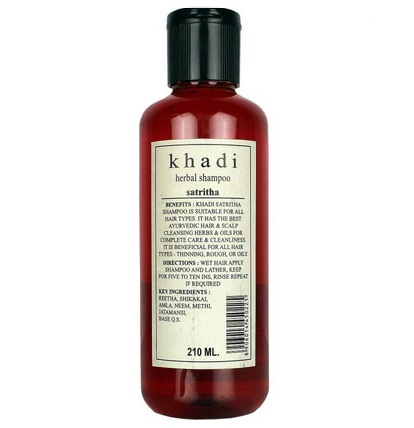 khadi best men's shampoo for oily hair thin hair