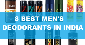 8 Best deodorants for men in India