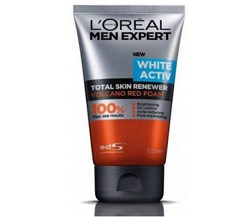 loreal best pimple dark spots face wash for men in india
