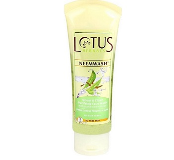 lotus best pimple dark spots face wash for men in india