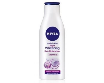 Nivea Night Whitening Skin Moisturiser Body Lotion