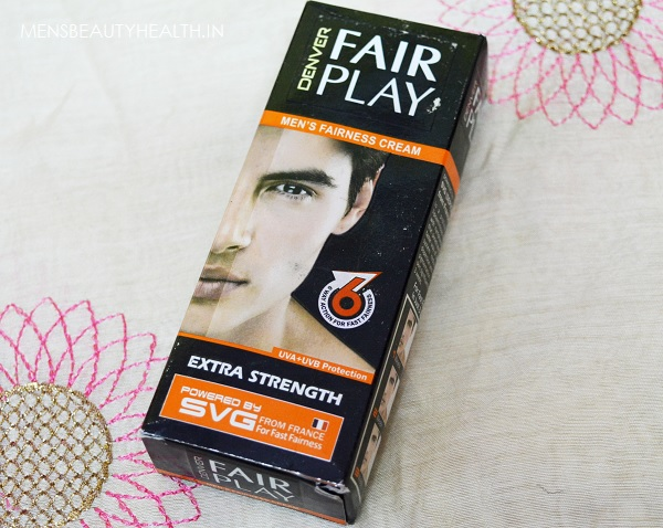Denver Fair Play Men's Fairness Cream Review