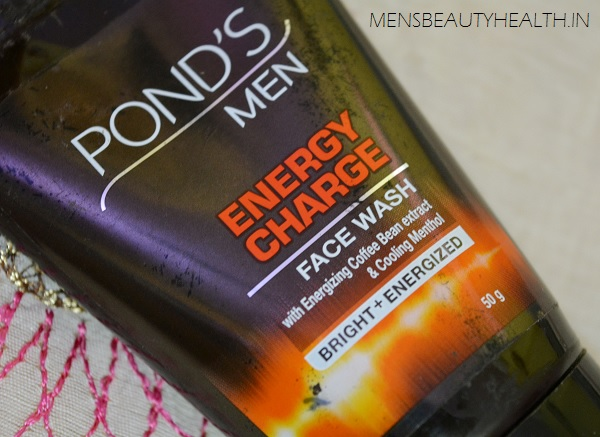 ponds men energy charge face wash review price
