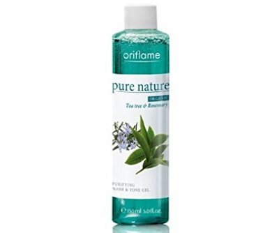 Oriflame Pure Nature Organic Tea Tree and Rosemary Purifying Wash