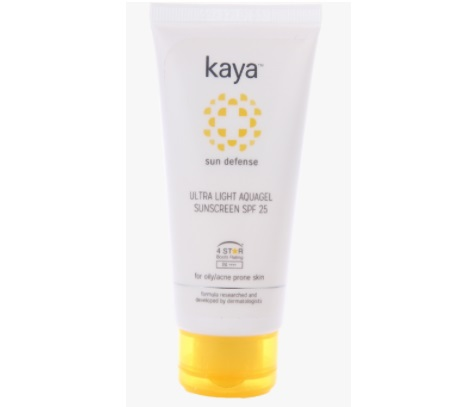Kaya Ultra Light Aquagel Sunscreen