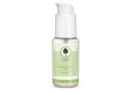 Organic Harvest Sunscreen Gel SPF