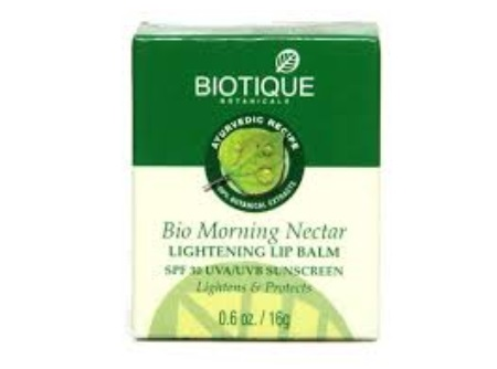 Biotique Bio Morning Nectar Lightening Lip Balm SPF 30