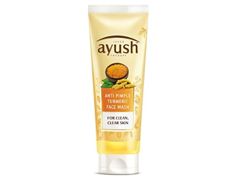 ayush turmeric face wash