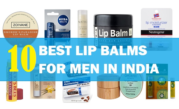 best lip balm for men in india