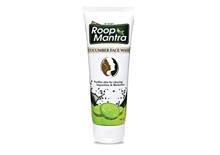roop mantra cucumber face wash