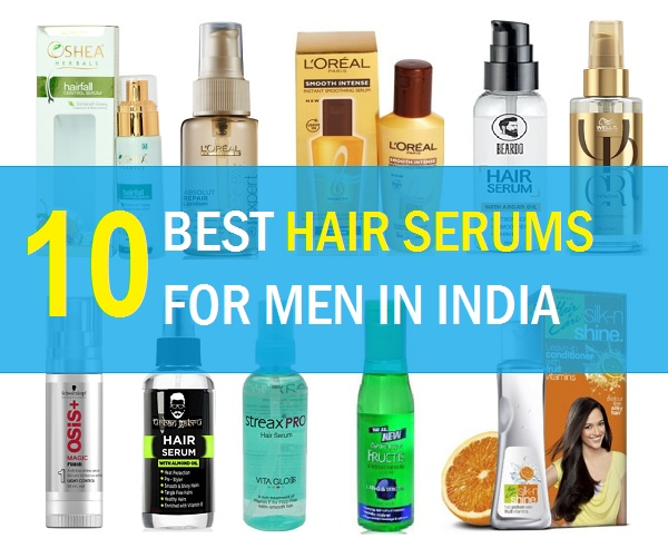 10 best hair serums for men in india