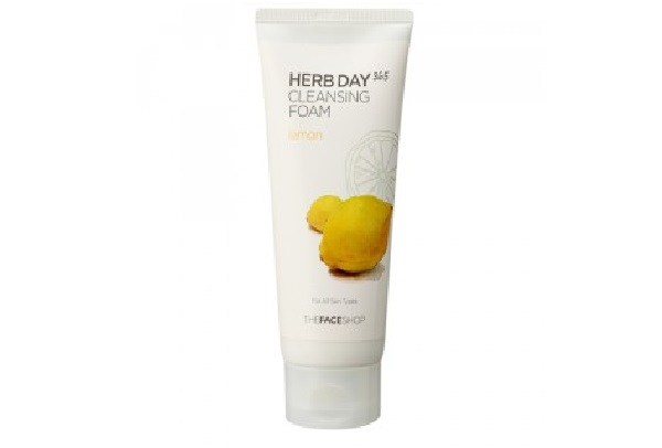 paraben free face wash