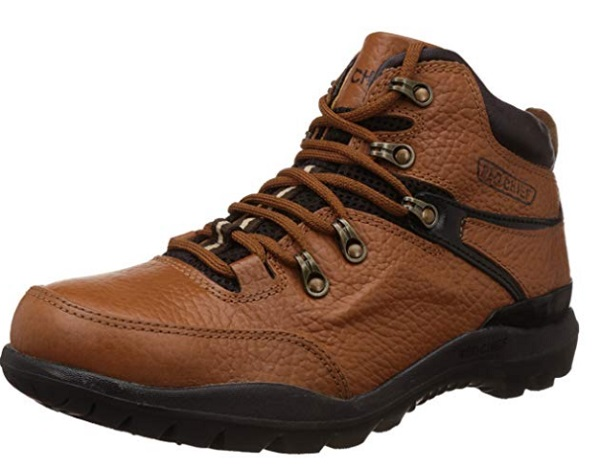 Redchief Men's Leather Trekking and Hiking Footwear Boots