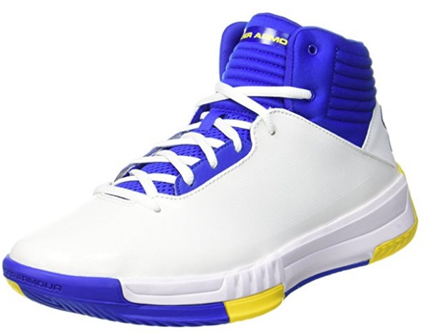 Under Armour Men's Leather Basketball Shoes