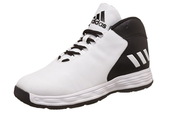 adidas Men's Hoopsta Leather Basketball Shoes