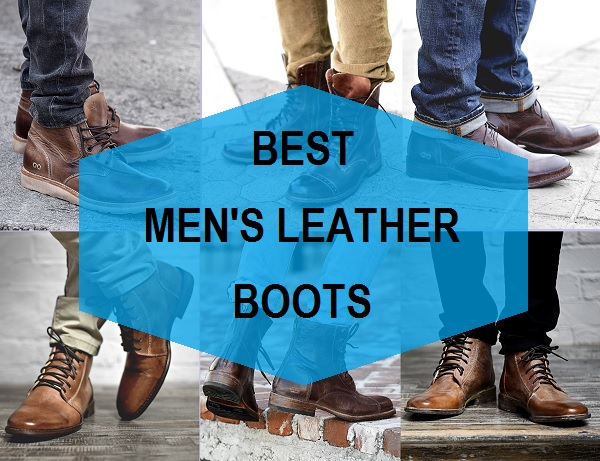 best men's leather boots in india