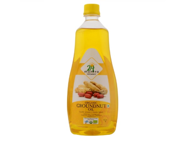 24 Mantra Organic Cold Pressed Groundnut Oil