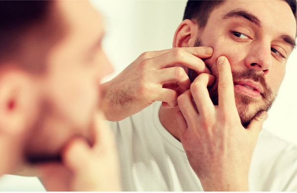 tips for men to remove pimple marks from oily skin