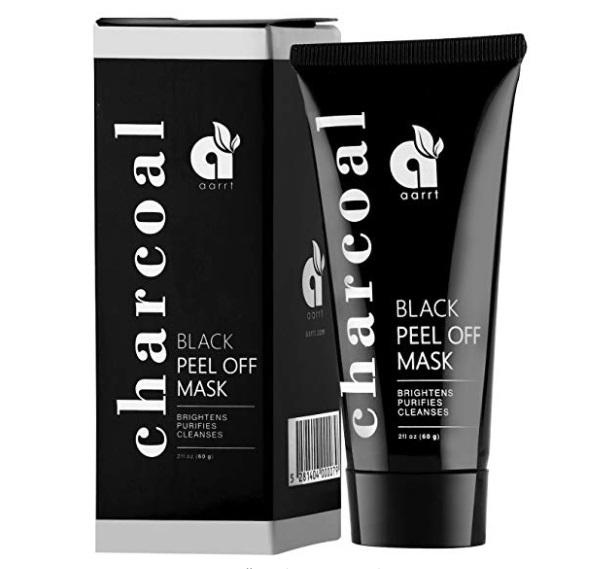 Aarrt Activated Charcoal Black Peel Off Mask