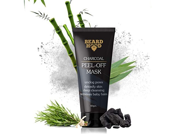 Beardhood Charcoal Peel Off Mask