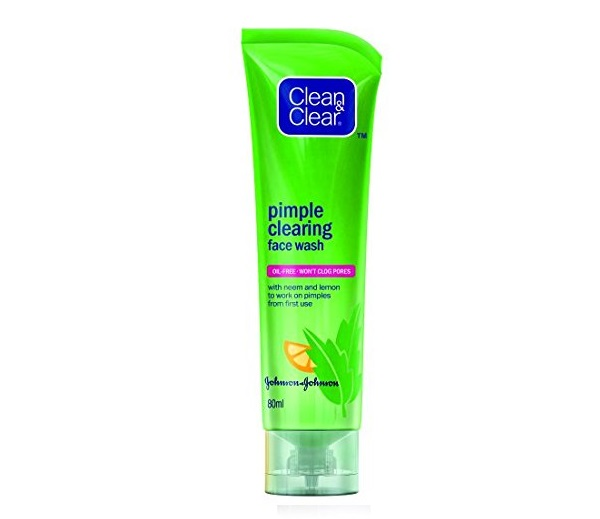 Clean & Clear Pimple Clearing Face Wash