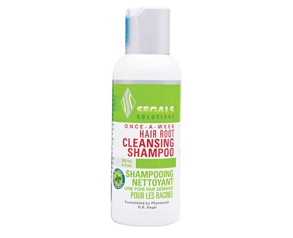 Segals Once-A-Week Hair Root Cleansing Shampoo