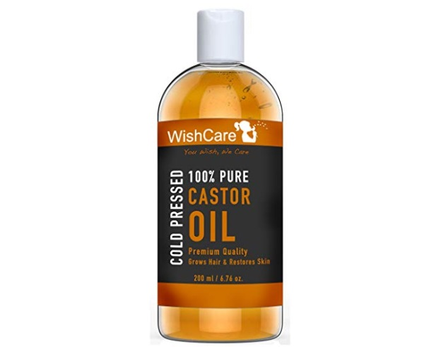 Wishcare Premium Cold Pressed Castor Oil