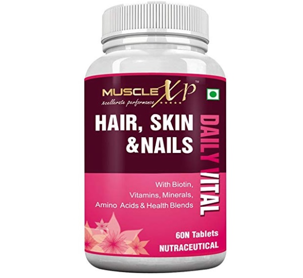 MuscleXP Biotin Hair Skin and Nails tablets