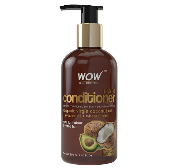 WOW Coconut No Sulphate & Parabens Hair Conditioner