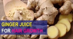 ginger for hair growth remedies