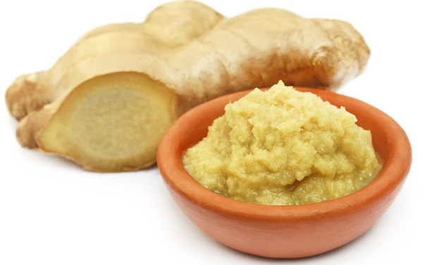 ginger paste for hair growth
